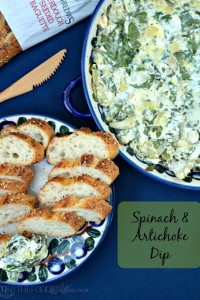 Spinach and Artichoke Dip - The Foodie Affair