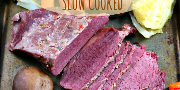 Corned Beef and Cabbage Slow Cooked - The Foodie Affair