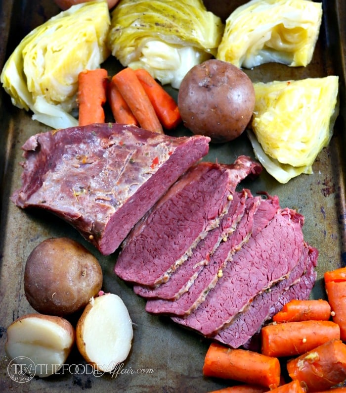 Simple Corned Beef Cabbage Slow Cooked Recipe