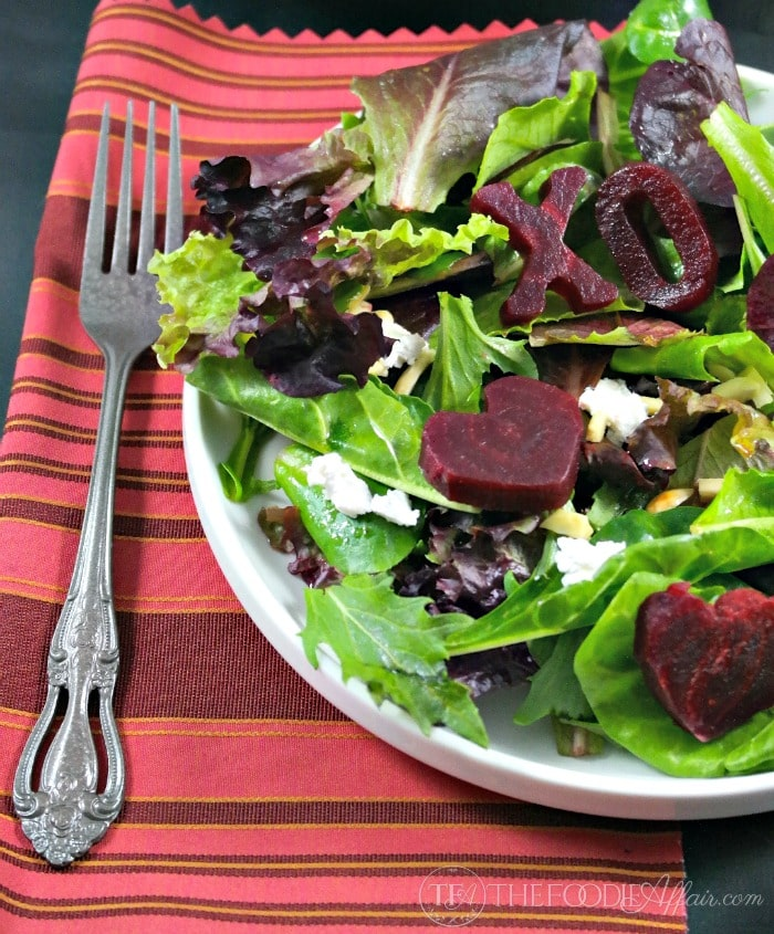 Roasted Beet Salad with Goat Cheese - The Foodie Affair