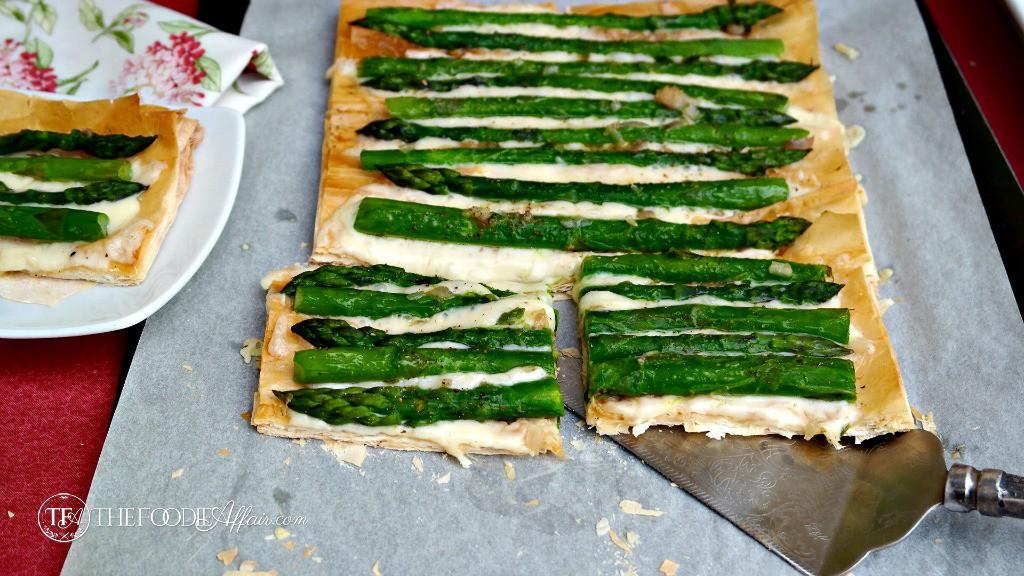 Asparagus Fontina Tart