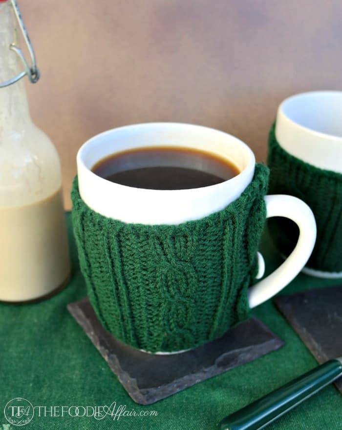 Homemade Irish Cream with Coffee - The Foodie Affair