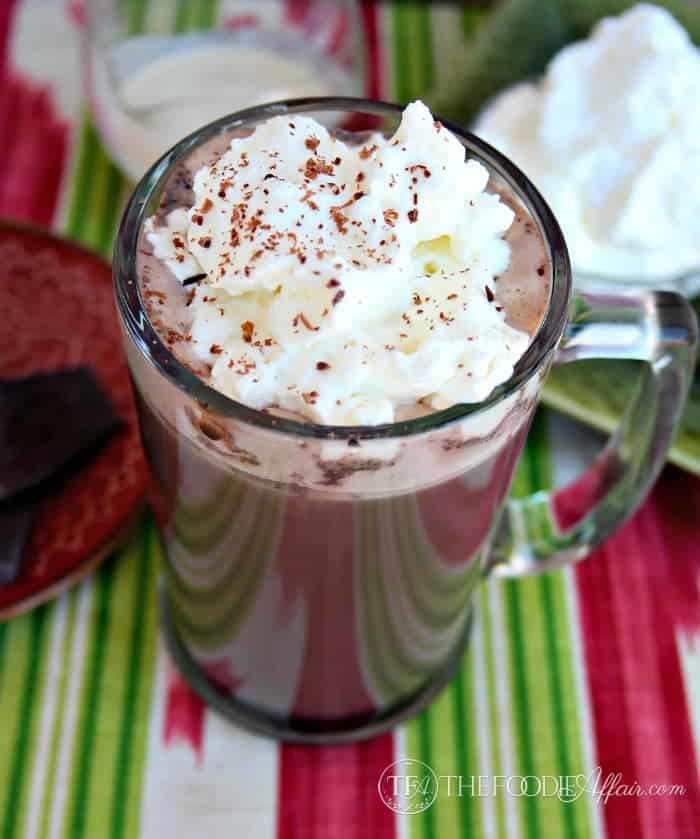Irish Cream Hot Cocoa - The Foodie Affair