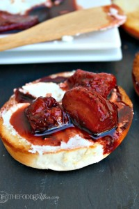 Balsamic Roasted Strawberries - The Foodie Affair