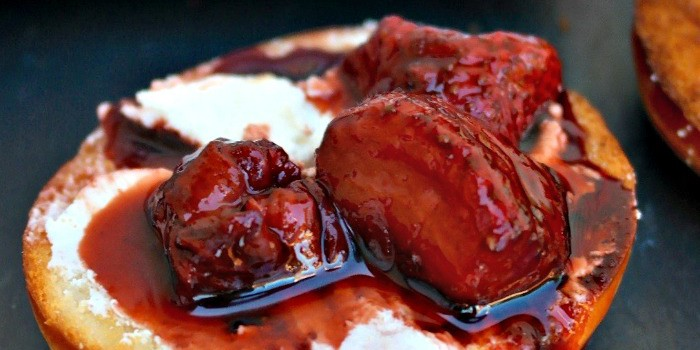 Balsamic Roasted Strawberries - The Foodie Affair