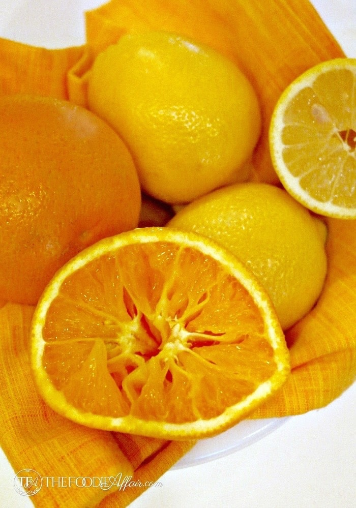 Citrus Chicken Piccata - The Foodie Affair