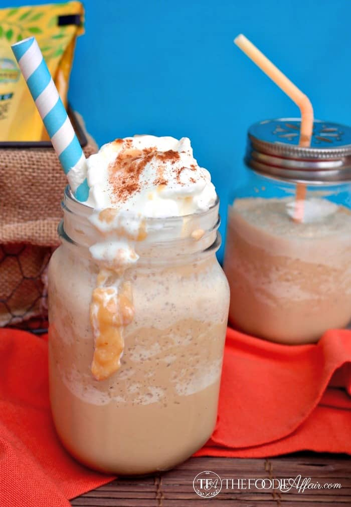 Dulce de Leche Coffee Frappe - The Foodie Affair