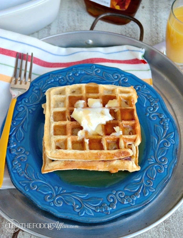 How To Freeze Waffles - The Foodie Affair