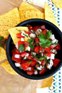 Pico de Gallo Fresh Salsa - The Foodie Affair