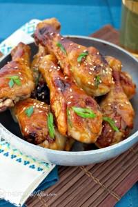 Miso Maple Glazed Chicken - The Foodie Affair