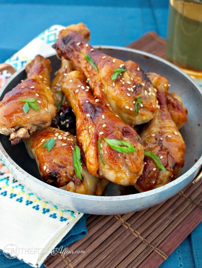 Miso Maple Glazed Chicken - The Foodie Affair