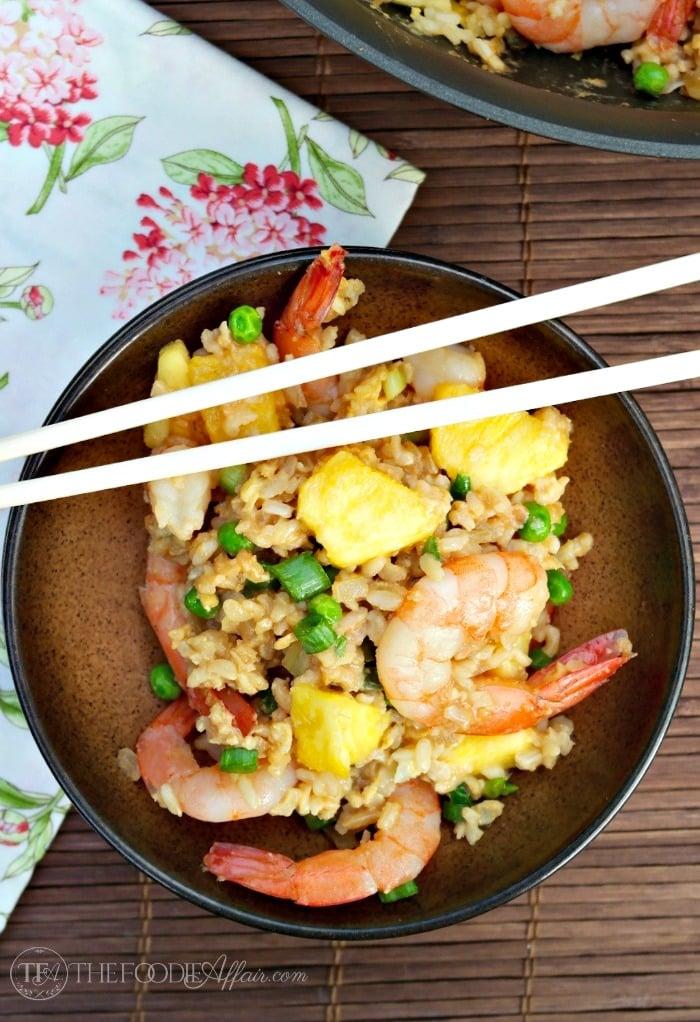how to make pineapple shrimp
