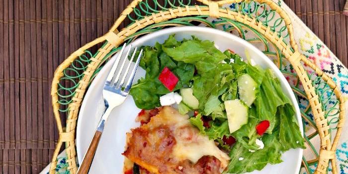 Easy Slow Cooker Lasagna - The Foodie Affair