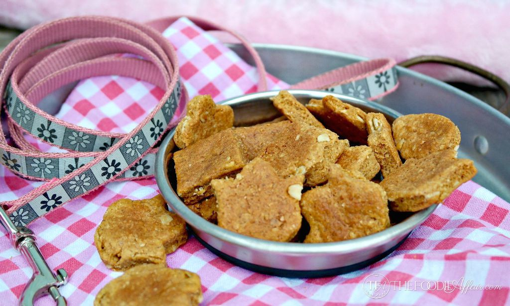 Easy Homemade Peanut Butter Dog Treats
