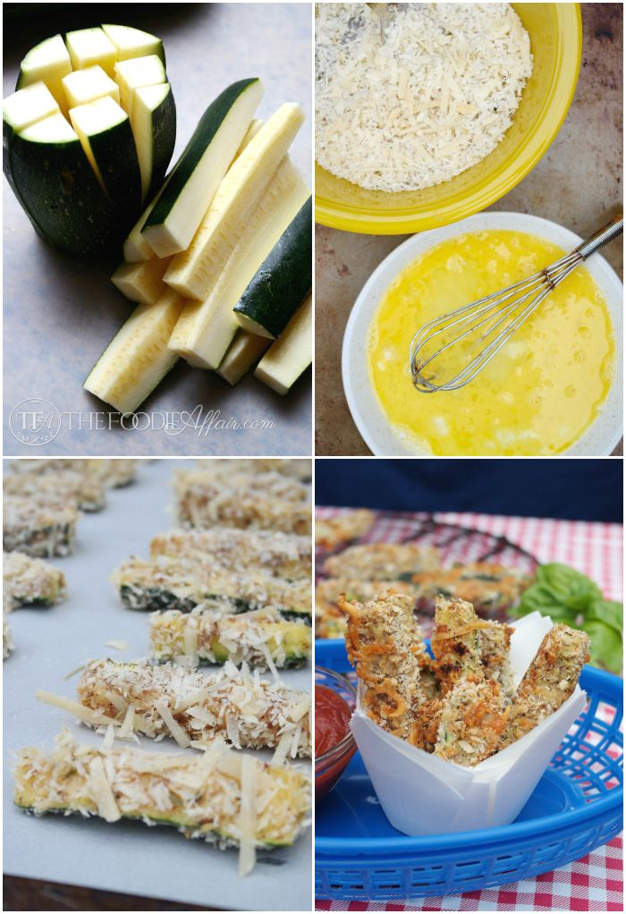 baked zucchini sticks ingredients