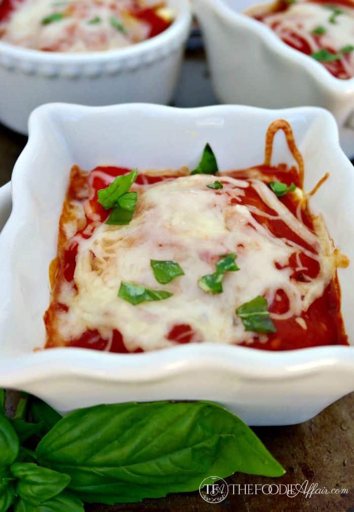 Individual Serving Ravioli Lasagnas