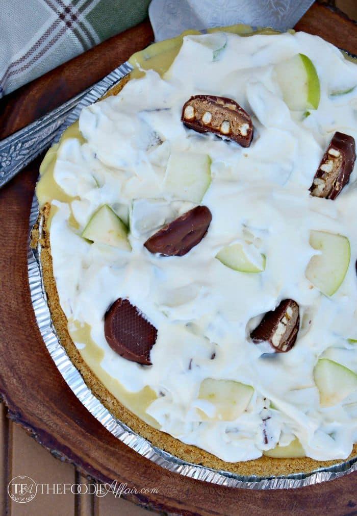 No Bake Take 5 Apple Pie