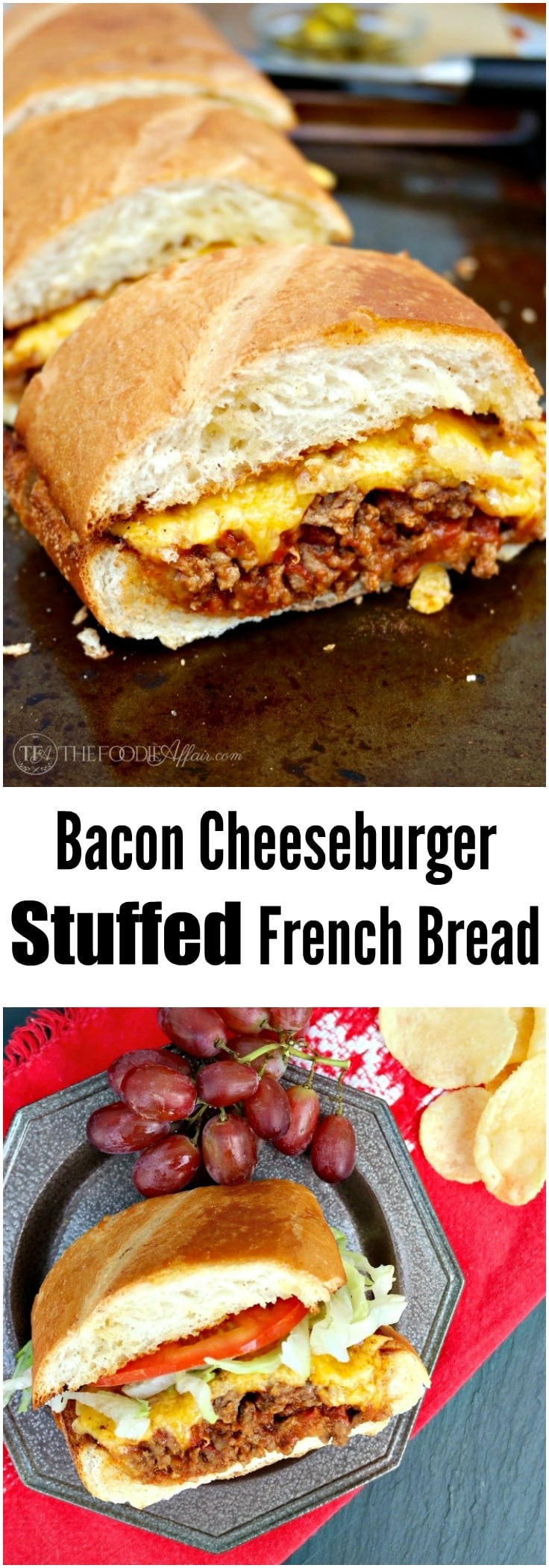 Beef stuffed french bread recipes