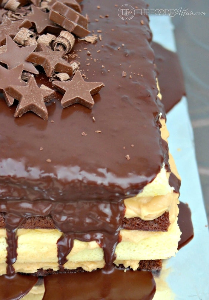 Chocolate Cake With Mousse Filling Epicurious