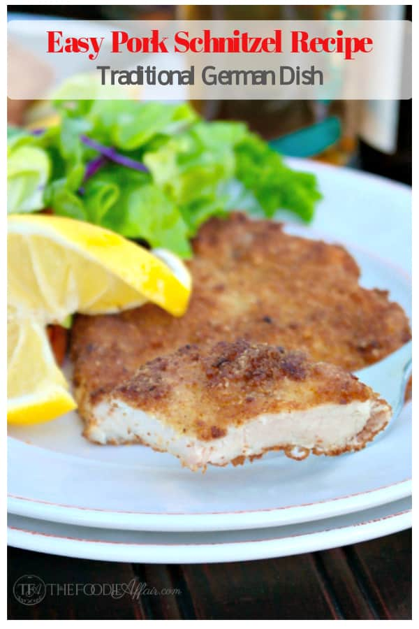 Easy Pork Schnitzel Recipe | German Traditional Dish