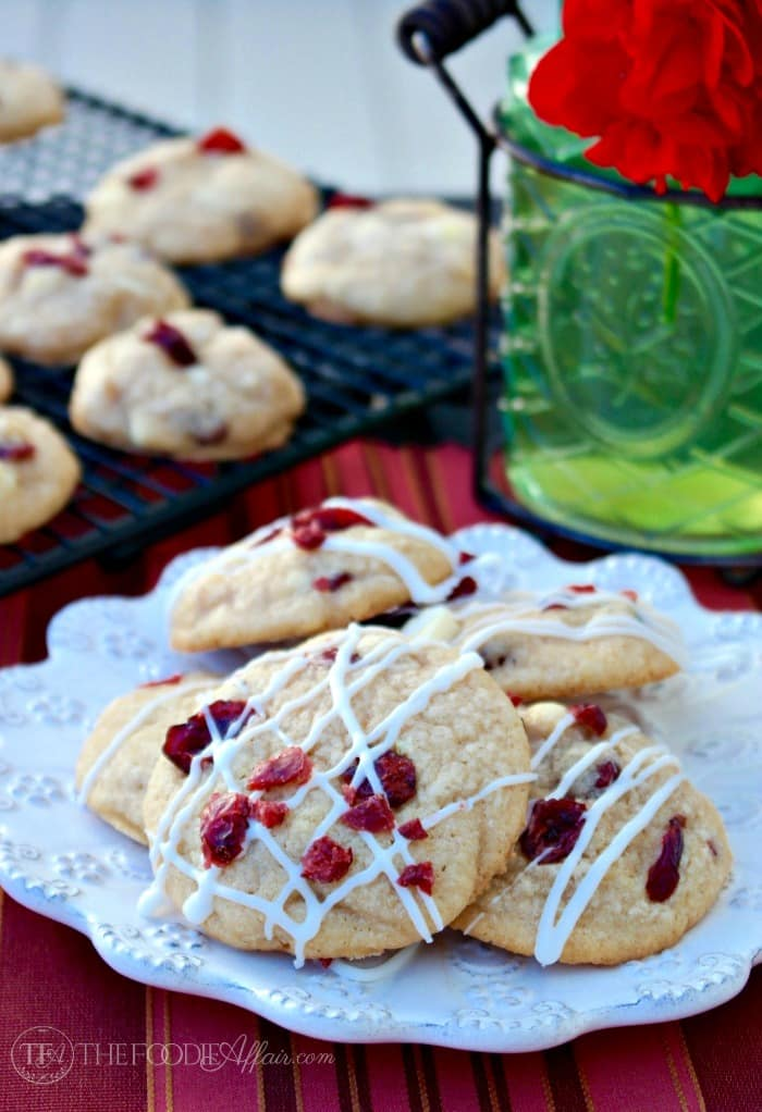 Macadamia Cranberry White Chocolate Cookies the ultimate soft and chewy cookie that bursts with flavor in every bite! The Foodie Affair
