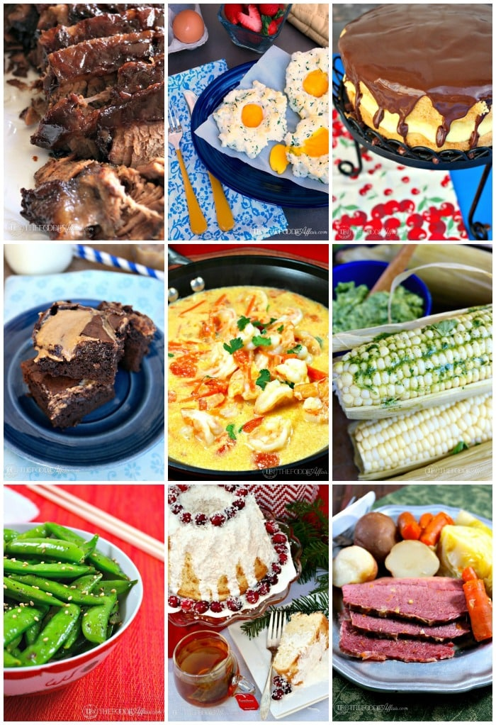 Top 10 Recipes 2015 for The Foodie Affair