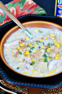 30 Minute Corn and Crab Chowder