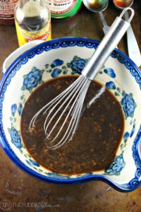 Sweet & Savory Homemade Teriyaki Sauce for any protein as a marinade or use as finishing sauce! The Foodie Affair
