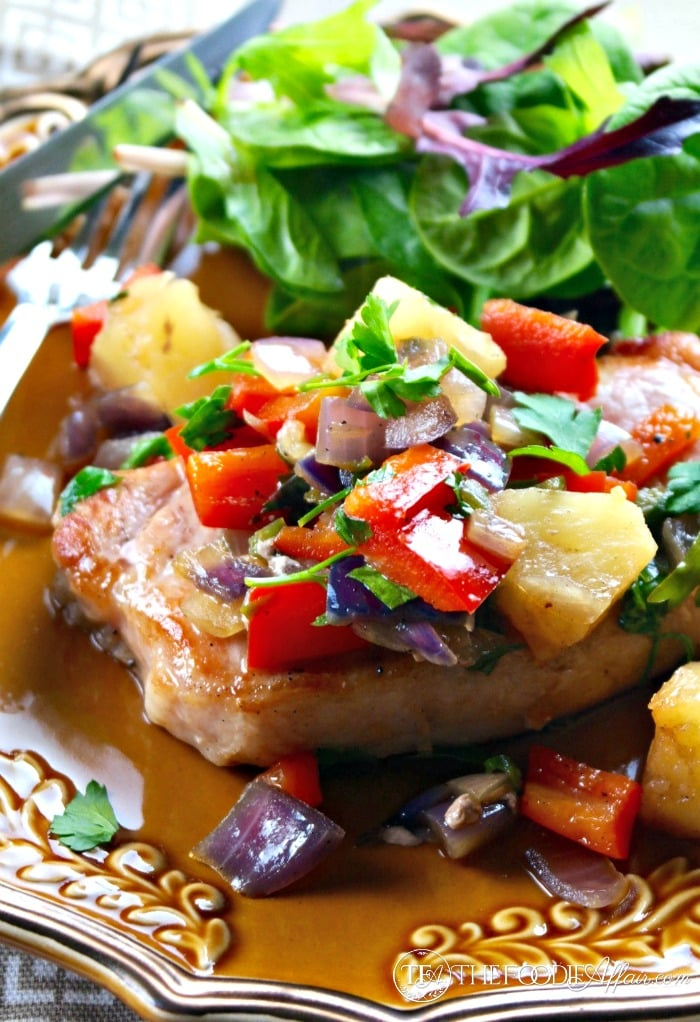 Serve this easy and tasty Sweet and Spicy Pineapple Pork dish is 30 minutes! The Foodie Affair