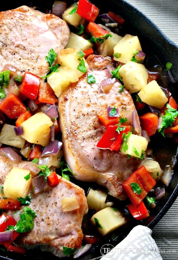 Sweet and Spicy Pineapple Pork
