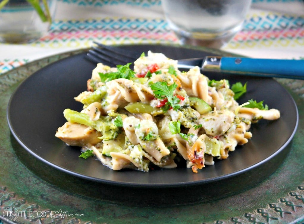 chicken vegetable casserole lightened up