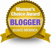 Women's Choice Award Blogger Badge
