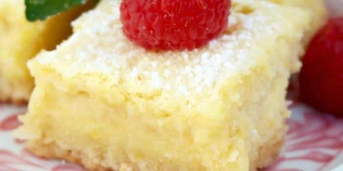 Lemon Bars {Low Carb & Gluten Free}