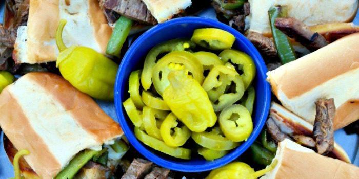 Grilled Cheese Steak Sandwich