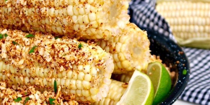 Mexican Style Corn on the Cob