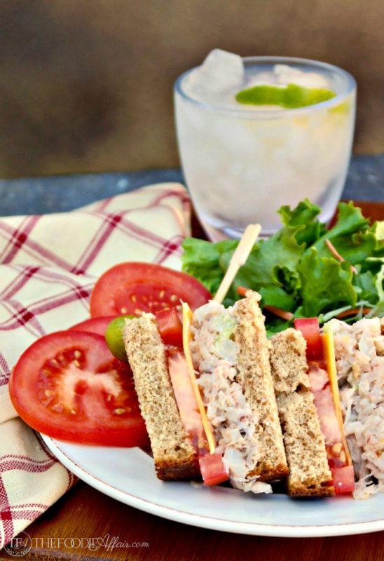 Crab Salad Sandwich Recipe with Peppridge Farm® Harvest Blends bread