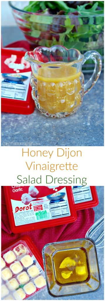 Honey Dijon Vinaigrette Salad Dressing