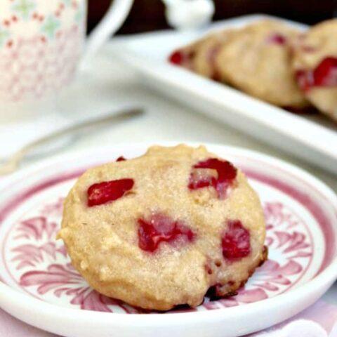 Strawberry Scones Recipe with coconut milk