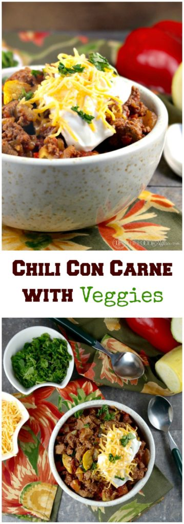 Chili Con Carne with Veggies