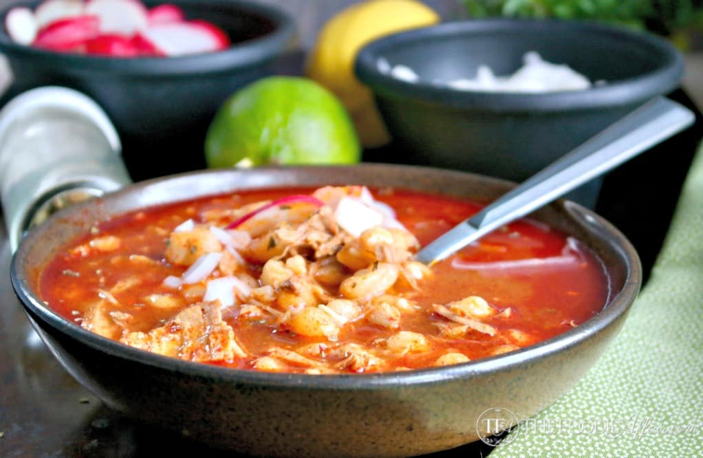 Authentic Pozole Mexican Soup Recipe