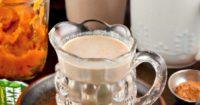 Low sugar homemade pumpkin spice coffee creamer #pumpkin #coffee #creamer #ad | thefoodieaffair.com