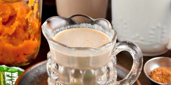 Lower Sugar Homemade Pumpkin Spice Coffee Creamer