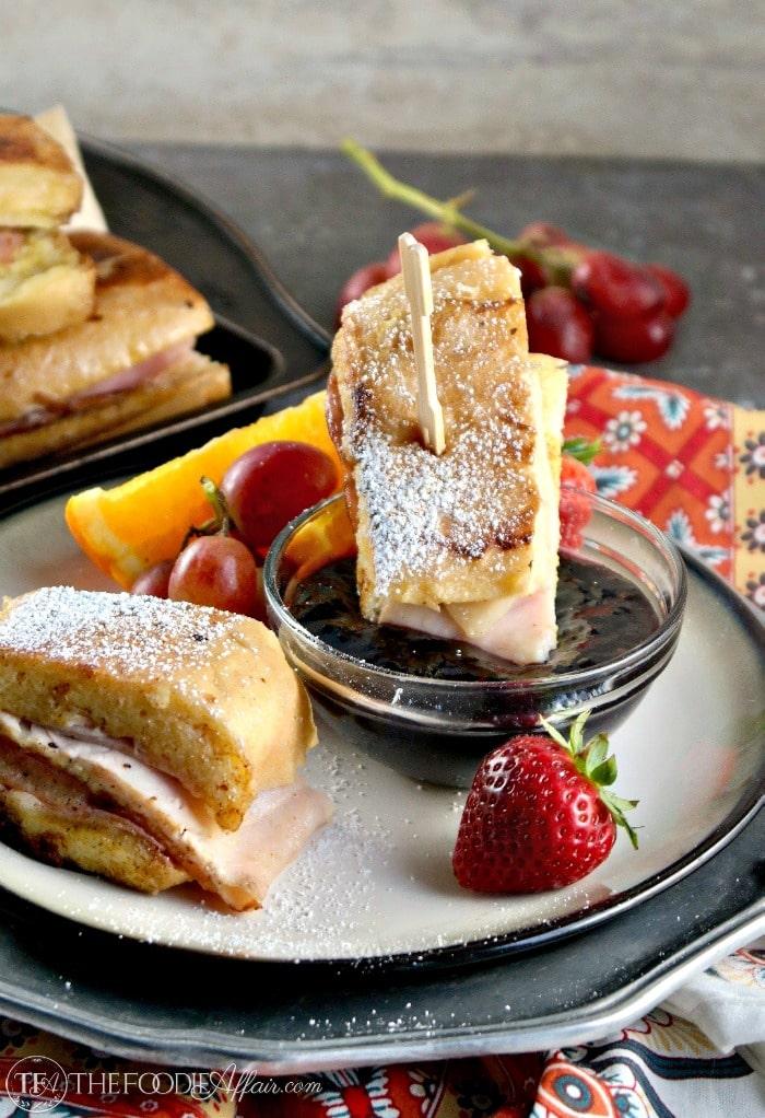 Monte Cristo Sandwich Bites