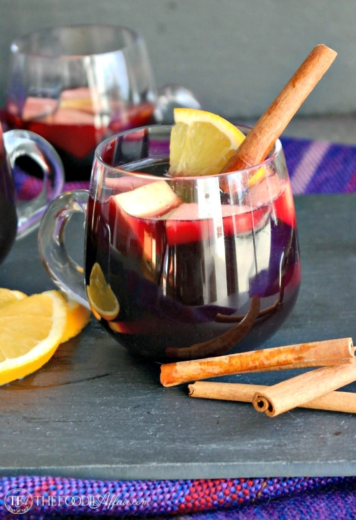 Slow Cooker Winter Sangria – An Easy recipe for Entertaining