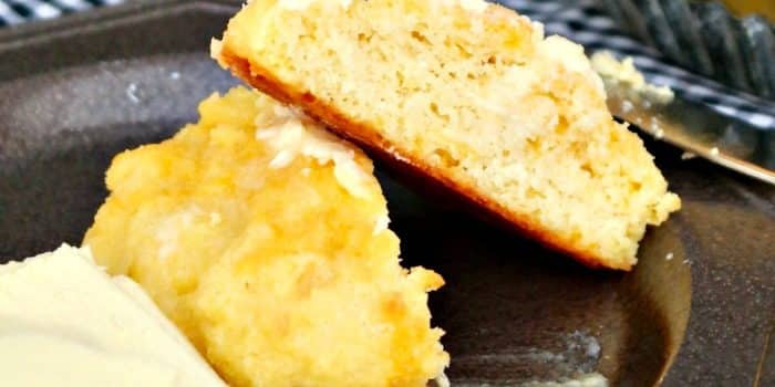 Tender Low Carb Cheddar Biscuits {Simple & Grain-Free}
