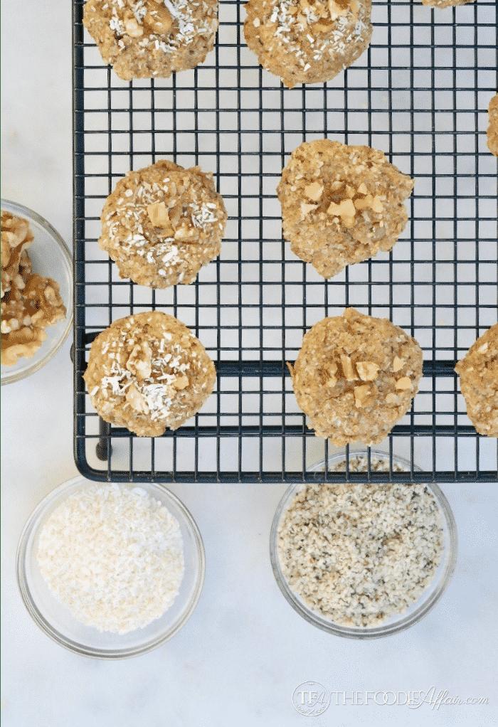Keto Breakfast Cookies {with Grain-Free Hemp Hearts}