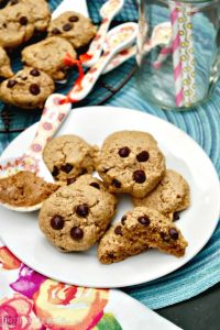 Soft Almond Butter Cookies with Sugar Free Chocolate Chips #AlmondButter #Cookies | www.thefoodieaffair.com