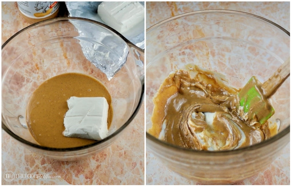 Ingredients for peanut butter egg filling