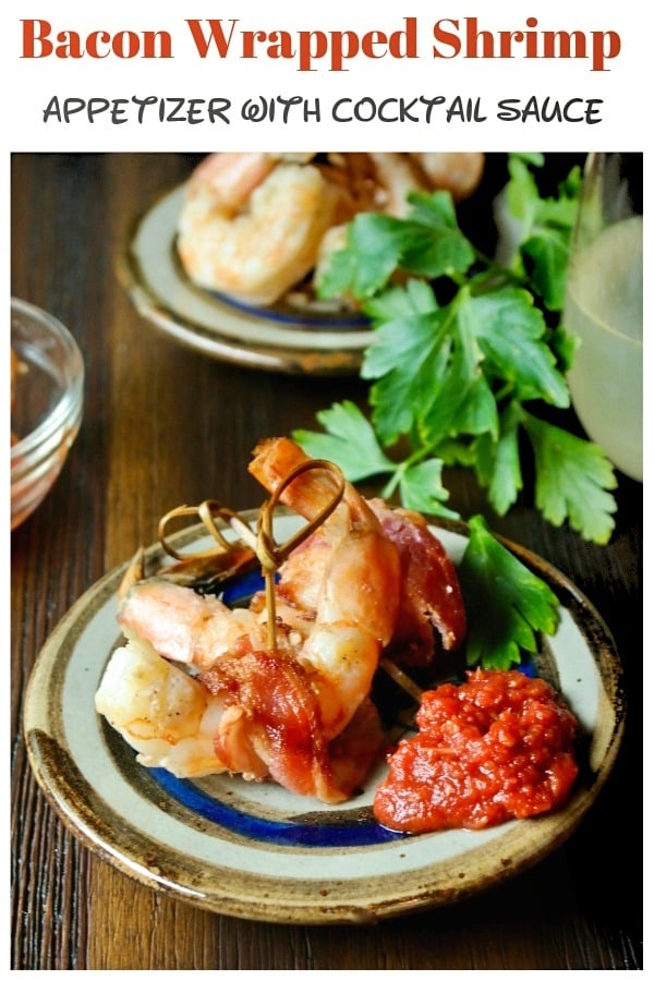 Bacon wrapped shrimp marinated in a simple olive oil, lemon and cajun spice dressing. These delicious shrimp wraps are an easy and tasty appetizer or serve over a fresh bed of lettuce for a complete meal! #bacon #shrimp #appetizer #lowCarbRecipe #ketodiet | www.thefoodieaffair.com