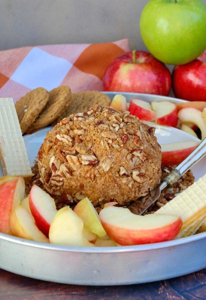 Apple Spice Cream Cheese Ball